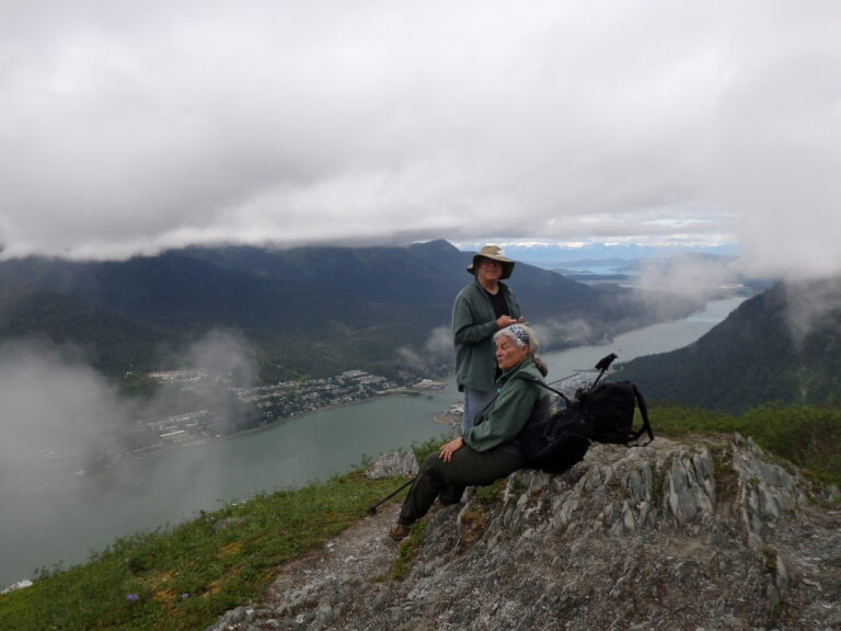 Into the clouds, hike to Mt. Roberts | Alaska Retreat